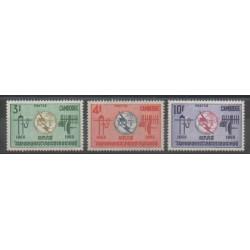 Cambodia - 1965 - Nb 161/163