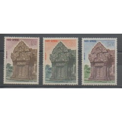 Cambodia - 1963 - Nb 132/134 - Monuments