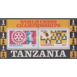 Tanzanie - 1986 - No BF 44 - Echecs