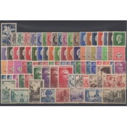 France - 1945 - Nb 669/747