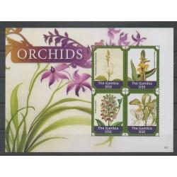 Gambie - 2015 - No 5539/5542 - Orchidées