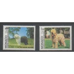 Monaco - 1982 - Nb 1329/1330 - Dogs