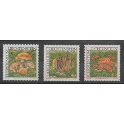 Liechtenstein - 1997 - Nb 1093/1095 - Mushrooms