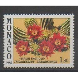 Monaco - 1982 - Nb 1339 - Flowers
