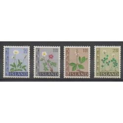 Islande - 1964 - No 336/339 - Fleurs