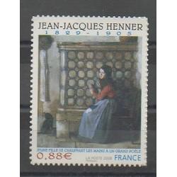 France - Autoadhésifs - 2008 - No 223 - Peinture