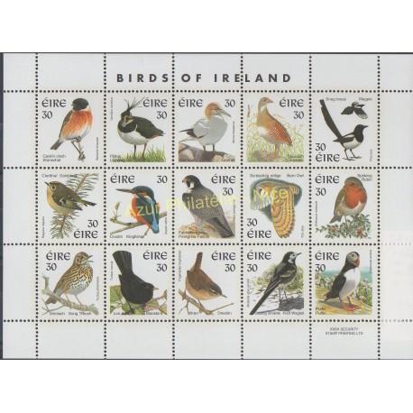 Timbres - Thème oiseaux - Irlande - 1999 - No 1122/1135