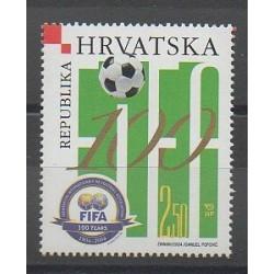 Croatia - 2004 - Nb 643 - Football