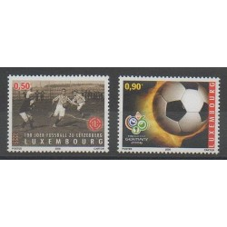 Luxembourg - 2006 - No 1661/1662 - Football