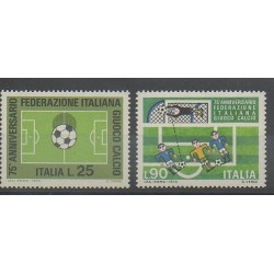 Italie - 1973 - No 1137/1138 - Football