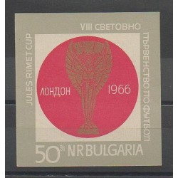 Bulgarie - 1966 - No BF 18 - Coupe du monde de football