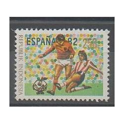 Indonésie - 1982 - No 962 - Coupe du monde de football