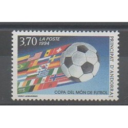 Andorre - 1994 - No 446 - Coupe du monde de football