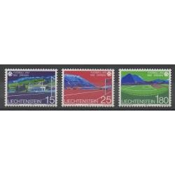 Lienchtentein - 1982 - Nb 740/742 - Soccer World Cup