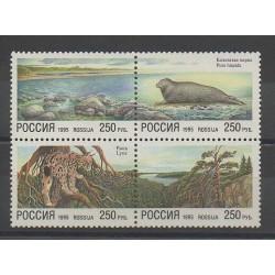 Russie - 1995 - No 6106/6109 - Flore