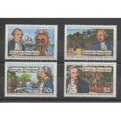 Grenadines - 1978 - Nb 277/280 - Boats