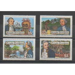 Grenadines - 1978 - No 277/280 - Bateaux