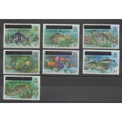 Caicos ( Islands) - 1981 - Nb 1/7 - Fishes