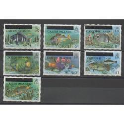 Caiques (Iles) - 1981 - No 1/7 - Poissons