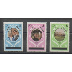 Caicos ( Islands) - 1981 - Nb 8(B)/10(B) - Royalty