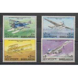 Bangladesh - 1978 - Nb 121/124 - Planes