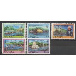 Antigua - 1975 - No 361a/365a - Bateaux