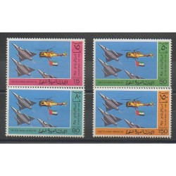 United Arab Emirates - 1980 - Nb 99/102 - Planes