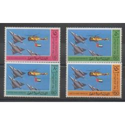 Emirats arabes unis - 1980 - No 99/102 - Avions