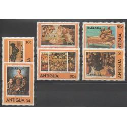 Barbuda - 1980 - Nb 487/492 - Art
