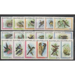 Barbuda - 1980 - No 469/486 - Oiseaux