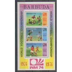 Barbuda - 1974 - Nb BF8 - Soccer World Cup