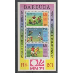 Barbuda - 1974 - No BF8 - Coupe du monde de football