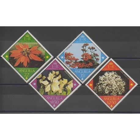 Anguilla - 1979 - No 334/337 - Fleurs