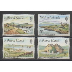 Falkland - 1980 - No 310/313 - Sites