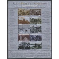 Saint-Pierre et Miquelon - Blocs et feuillets - 2000 - No BF8 - Histoire