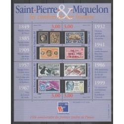 Saint-Pierre et Miquelon - Blocs et feuillets - 1999 - No BF6 - Timbres sur timbres