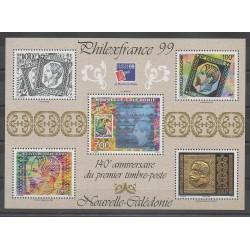 Nouvelle-Calédonie - Blocs et feuillets - 1999 - No BF22 - Timbres sur timbres