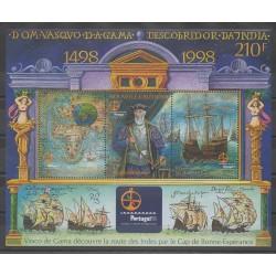 Nouvelle-Calédonie - Blocs et feuillets - 1998 - No BF20 - Bateaux