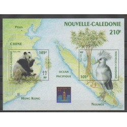 New Caledonia - Blocks and sheets - 1994 - Nb BF16 - Animals
