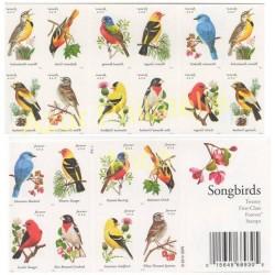 Timbres - Thème oiseaux - États-Unis - 2014 - No 4695/4704