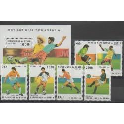 Benin - 1996 - Nb 710G/710M - BF 29H - Soccer World Cup