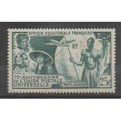 French Equatorial Africa - 1949 - Nb PA 54