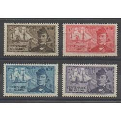 Afrique Equatoriale Française - 1938 - No 66/69