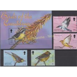 Montserrat - 2003 - No 1112/1115 - BF 96 - Oiseaux