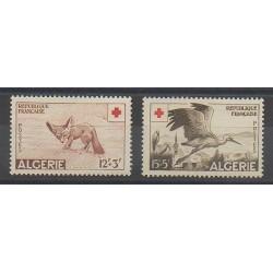 Algérie - 1957 - No 343/344