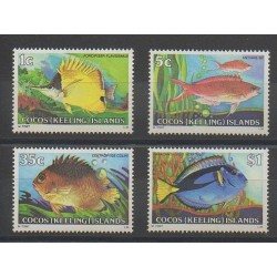 Cocos (Island) - 1979 - Nb 34/37 - Fishes