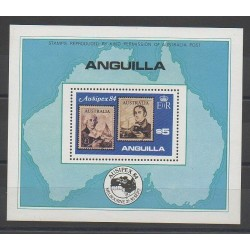 Anguilla - 1984 - Nb BF56 - Stamps on stamps