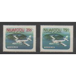 Niuafo'ou (Tonga) - 1983 - Nb 1/2 - Planes