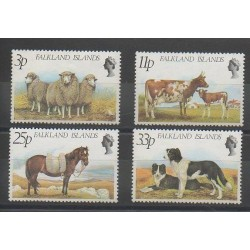 Falkland - 1981 - No 314/317 - Animaux