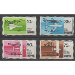 Singapore - 1978 - Nb 310/313 - Planes